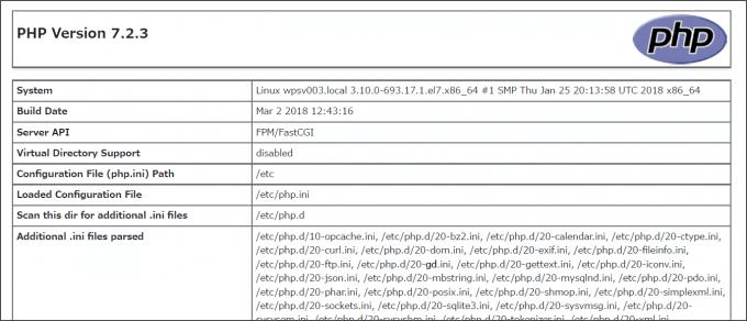 CentOS7+WordPress環境でPHP7.1.2を7.2.3へアップデートする方法