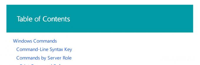Windowsコマンドの使い方を調べるならリファレンスを常備しよう