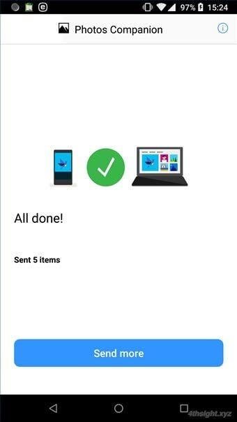 スマホからWindows10へ写真や動画をかんたんに転送する方法(Photos Companion)