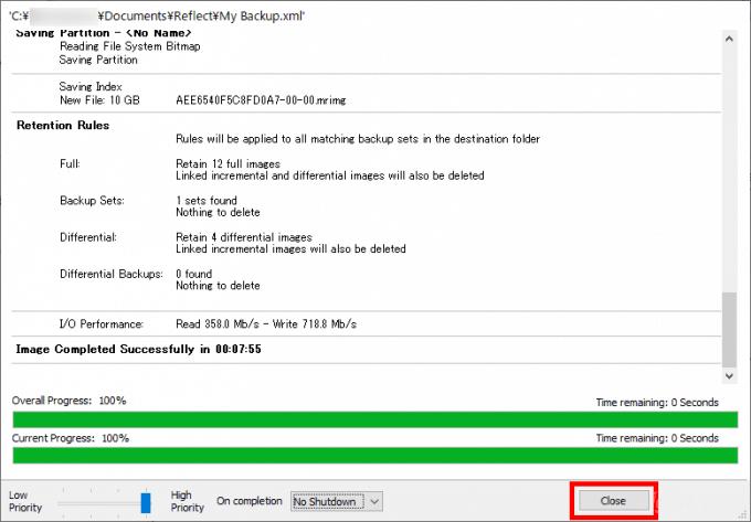 Windows10でおすすめの無料バックアップツール「Macrium Reflect 7 Free Edition」