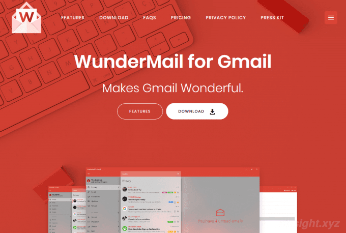 Windows10でGmailをよく使うなら「WunderMail for Gmail」がおススメ