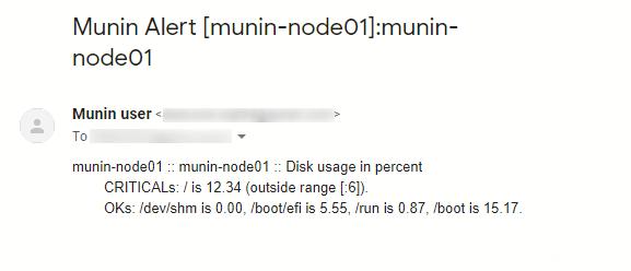 CentOS7のMuninでしきい値とメール通知を設定する方法