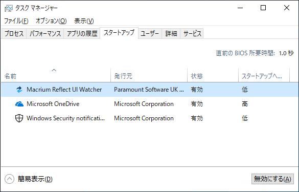 Windows10を高速化するのにおすすめの設定