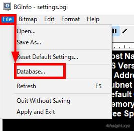 Windowsマシンの背景にシステム情報を表示する方法(BgInfo)