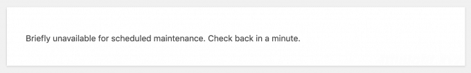 WordPressがメンテナンスモードから回復しないときの対処法
