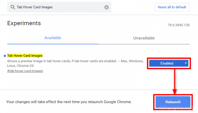 デスクトップ版Google Chromeでタブホバーカードにサムネイルを表示する方法