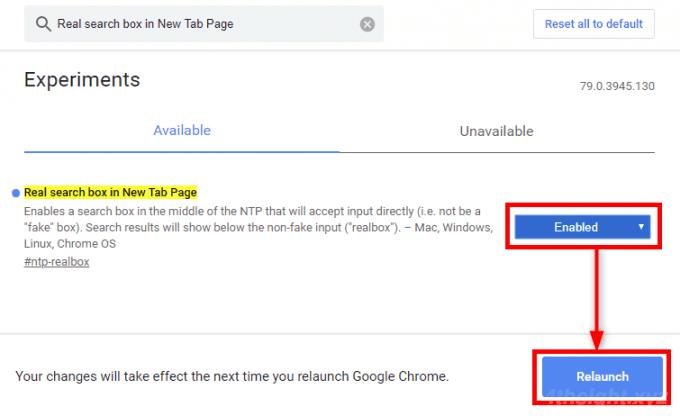 Google Chromeの新しいタブに表示されている検索ボックスを機能させる方法