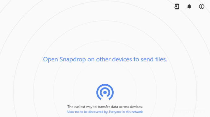PCとスマホ間で、もっとも手軽にファイルやメッセージを送受信する方法「Snapdrop」