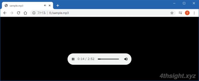 Windows10で超絶シンプルな音楽・動画プレイヤーをお探しならWebブラウザはいかが?