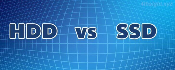 「SSD」と「HDD」は用途に応じて使い分けよう。