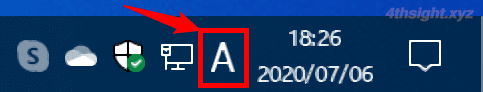 Windows10のMicrosoft IMEで日本語入力の状態を分かりやすくする方法