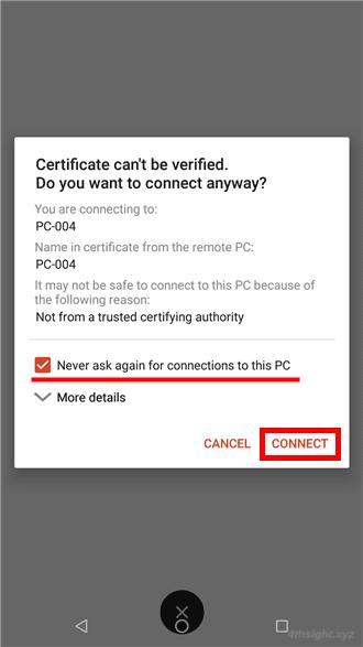 Android端末からリモートデスクトップするならMicrosoft製「Remote Desktop」がおススメ