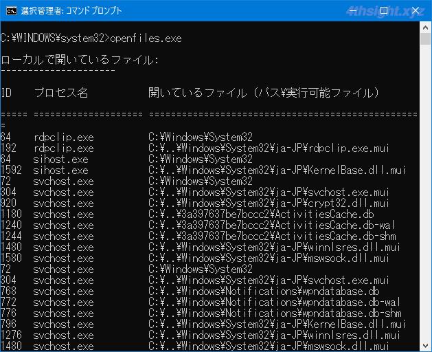 Windows10で使用中のため削除や移動ができないファイルを調査する方法