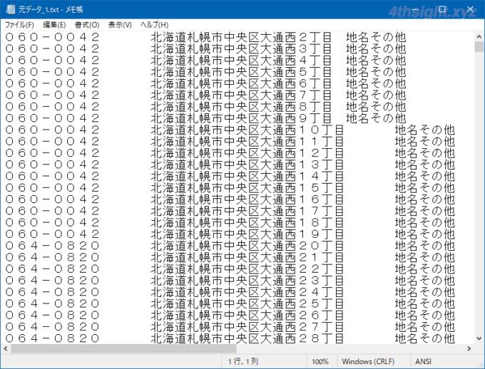 Windows10のMicrosoft IMEで2021年版の郵便番号辞書を作成する方法